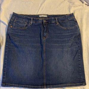 Mint NEW Levi Strauss Jean Pencil Skirt